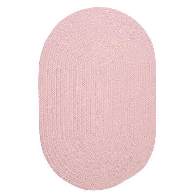 Navarrette Blush Pink Area Rug Rug Size: Oval 2 x 4