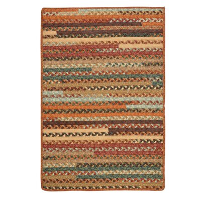 Surette Warm Chestnut Area Rug Rug Size: Square 4'