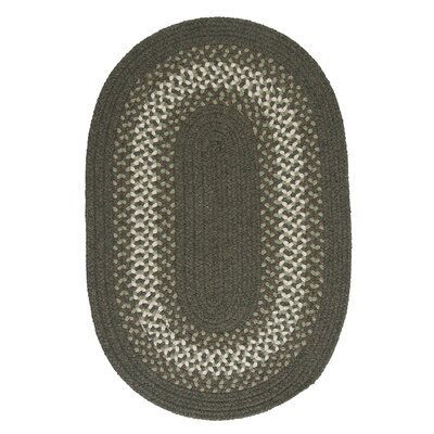 Serafin Olive Area Rug Rug Size: Oval 3 x 5