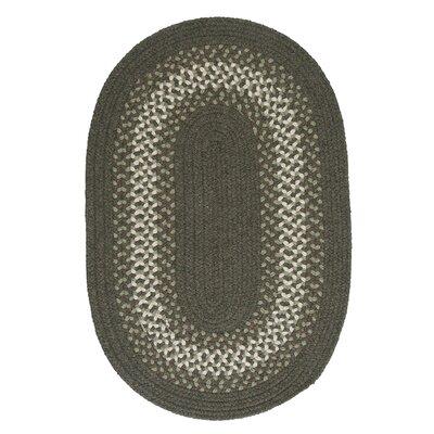Serafin Olive Area Rug Rug Size: Oval 8 x 11