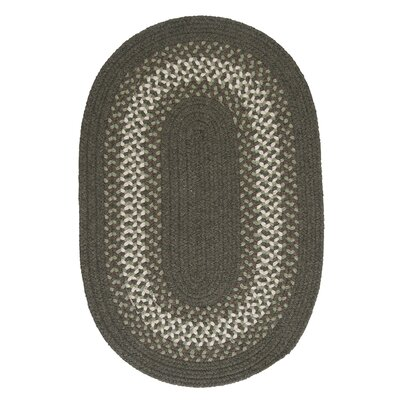 Serafin Olive Area Rug Rug Size: Oval 12 x 15