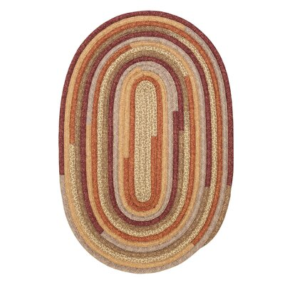 Chapelle Red Area Rug Rug Size: Oval 12' x 15'