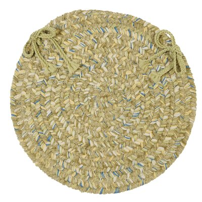 Annet Dining Chair Cushion Color: Celery