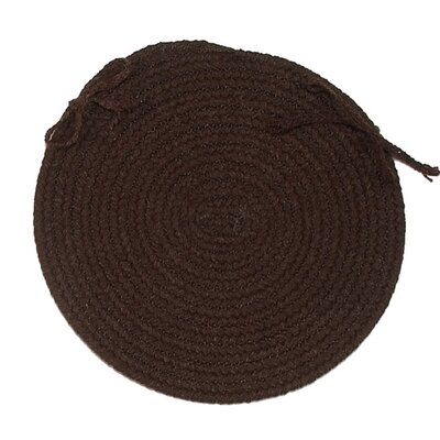 Chair Pad Color: Dark Brown
