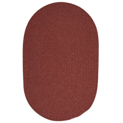 Navarrette Red Area Rug Rug Size: Round 4