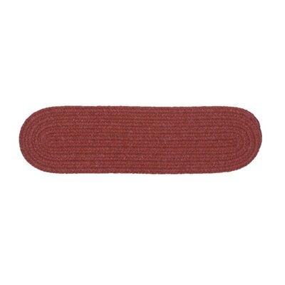 Navarrette Red Stair Tread Quantity: 1