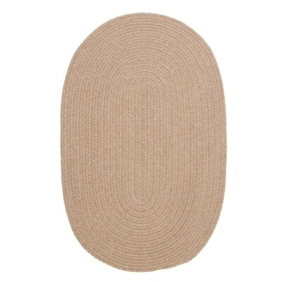 Navarrette Brown Area Rug Rug Size: Oval 4 x 6