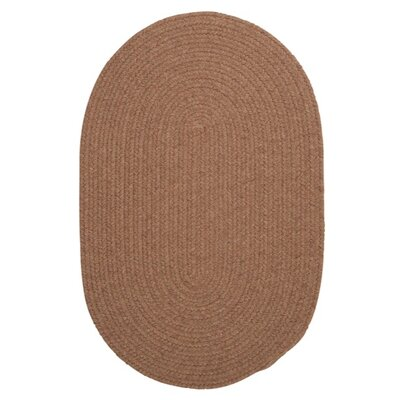 Navarrette Brown Area Rug Rug Size: Oval 3 x 5