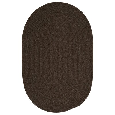 Navarrette Brown Area Rug Rug Size: Oval 7 x 9