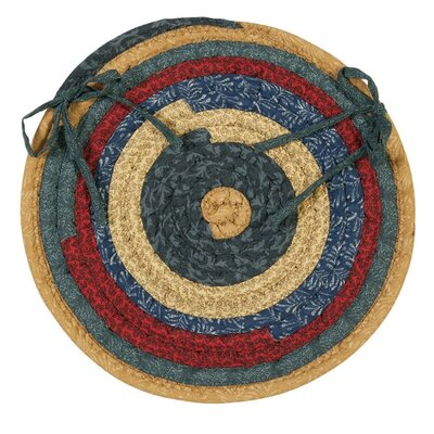 Chapelle Chair Pad Color: Denim