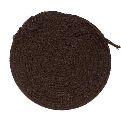 Chair Pad Color: Dark Brown