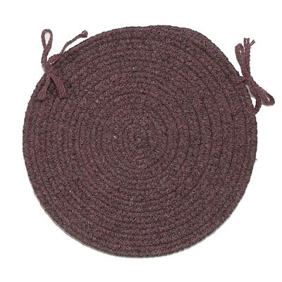 Chair Pad Color: Dark Plum