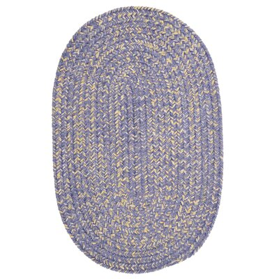 Annet Amethyst Area Rug Rug Size: Oval 4 x 6
