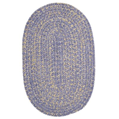 Annet Amethyst Area Rug Rug Size: Oval 12 x 15