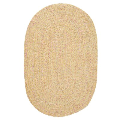 Annet Banana Area Rug Rug Size: Round 6