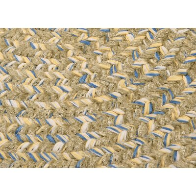 Annet Celery Area Rug Rug Size: Oval 4' x 6'