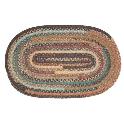 Surette Warm Chestnut Kitchen Area Rug Rug Size Oval 3 x 5