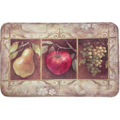 Robicheaux Tuscan Fruit Kitchen Mat