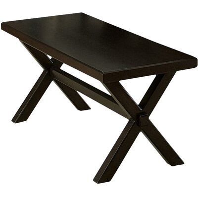 Gardner Wood Dining Bench Finish: Charcoal