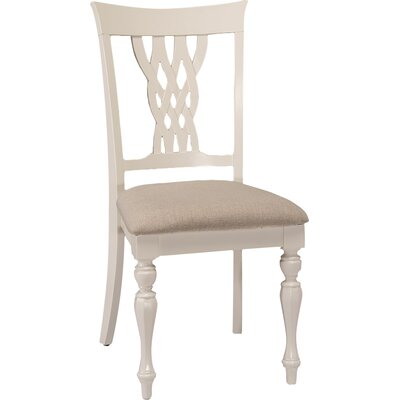 Carcassonne Side Chair Upholstery: Classic White