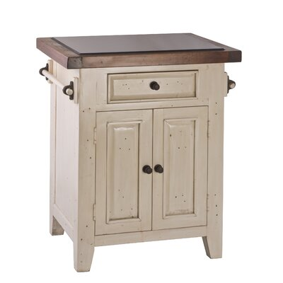 Lavedan Kitchen Cart with Granite Top