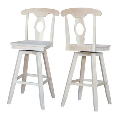 Simoneaux 30 Swivel Bar Stool
