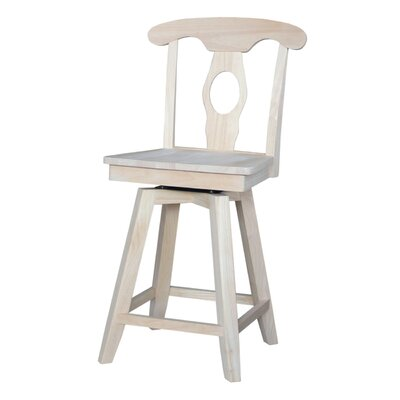 Simoneaux 24 Swivel Bar Stool