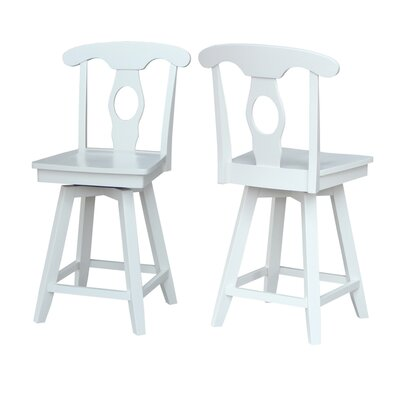 Simoneaux 24 inch Swivel Bar Stool