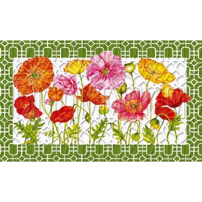 Riviere Poppy Garden Embossed Doormat
