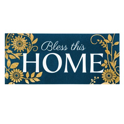 Llewellyn Bless This Home Sassafras Doormat