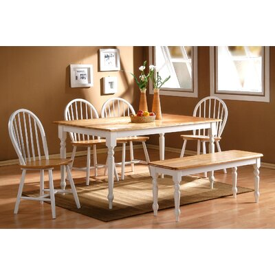 Bella 6 Piece Dining Set