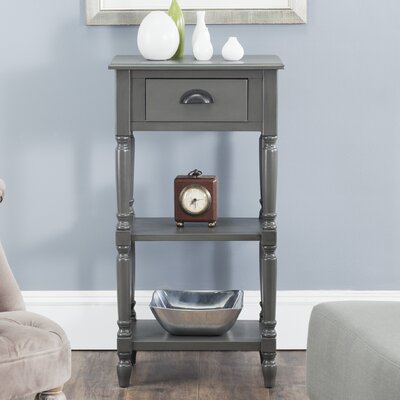 Jenney End Table Finish: Grey