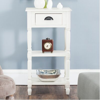 Jenney End Table Finish: White