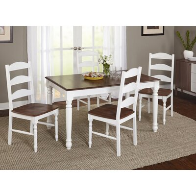 Fleurance 5 Piece Dining Set