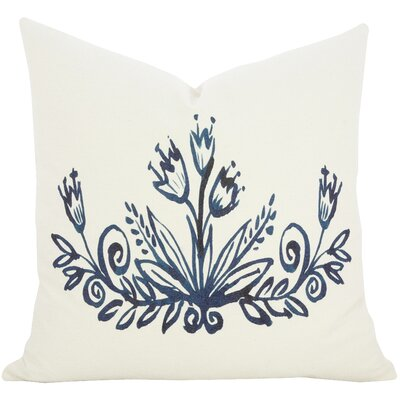 Fosse Watercolor Throw Pillow