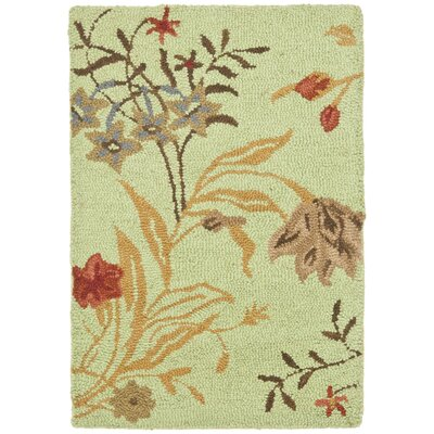 Ginger Light Green Area Rug Rug Size: Rectangle 2 x 3