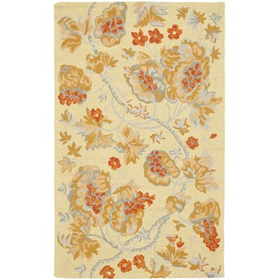 Ginger Beige Area Rug Rug Size: Rectangle 5 x 8