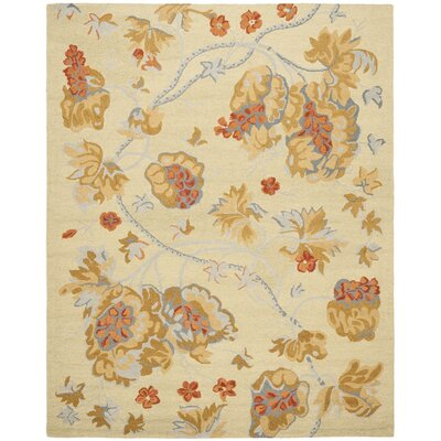 Ginger Beige Area Rug Rug Size: Rectangle 8 x 10