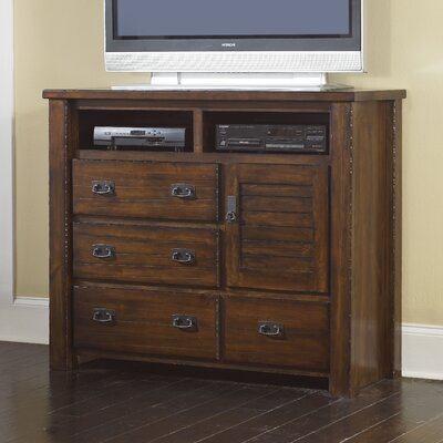 Tourmalet 4 Drawer Media Chest
