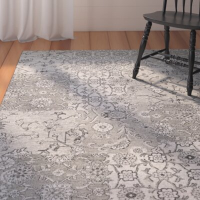 Adline Dark Gray/Ivory Area Rug