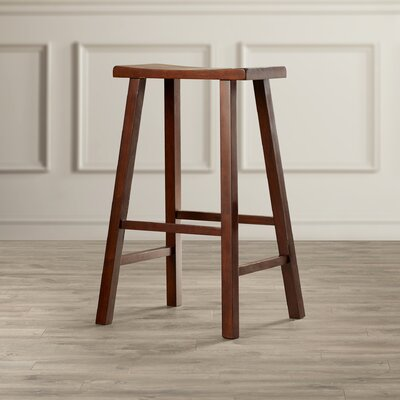 Toby 29 Bar Stool Color: Distressed Walnut