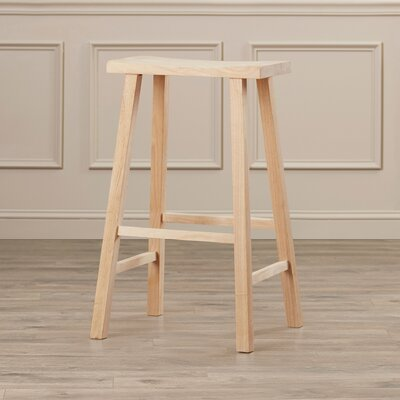Toby 29 Bar Stool Color: Unfinished