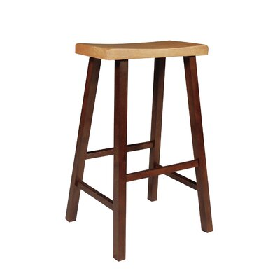 Toby 29 Bar Stool Finish: Cinnamon / Espresso