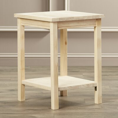 Toby Rectangular Wood End Table