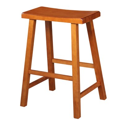 Imogene 24 Bar Stool Finish: Distressed Rustic Oak