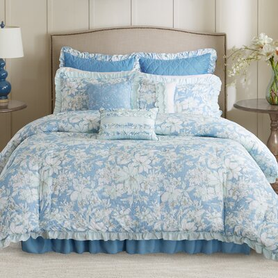 Walcott 9 Piece Comforter Set Size: California King