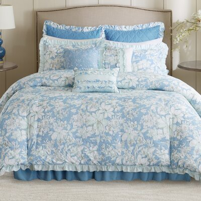 Walcott 9 Piece Duvet Cover Set Size: King