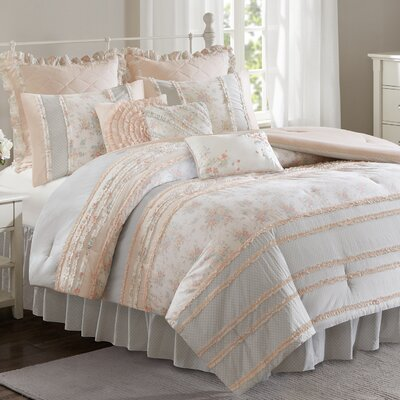 Afton Comforter Set Size: King