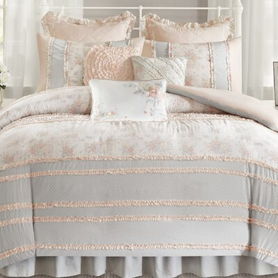 Afton Duvet Cover Set Size: King