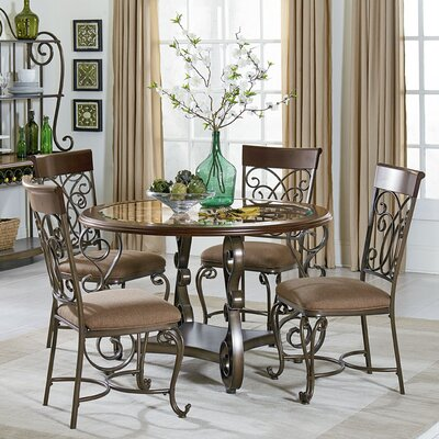 Goldenrod 5 Piece Dining Set